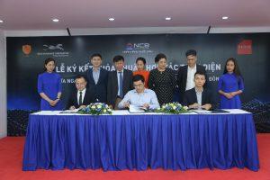 (Thời báo kinh doanh) Lễ ký kết thỏa thuận hợp tác ba bên giữa NCB, VASS và NETFIN Việt Nam