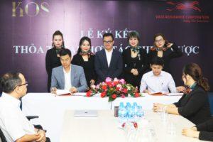 (Theo 24h.com.vn) Lễ ký kết thỏa thuận hợp tác chiến lược giữa VASS và KOS