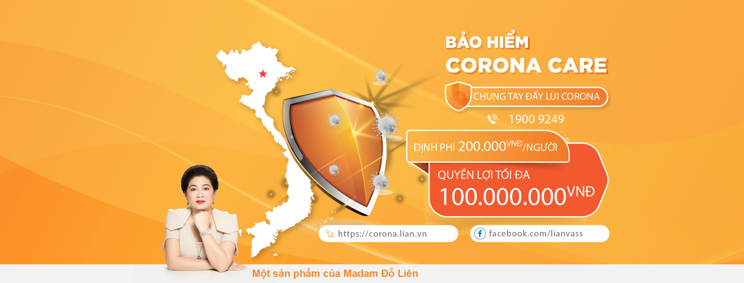 (Theo Tiền Phong) Nhiều khách hàng 'phòng chống' dịch Covid-19 bằng bảo hiểm Corona Care