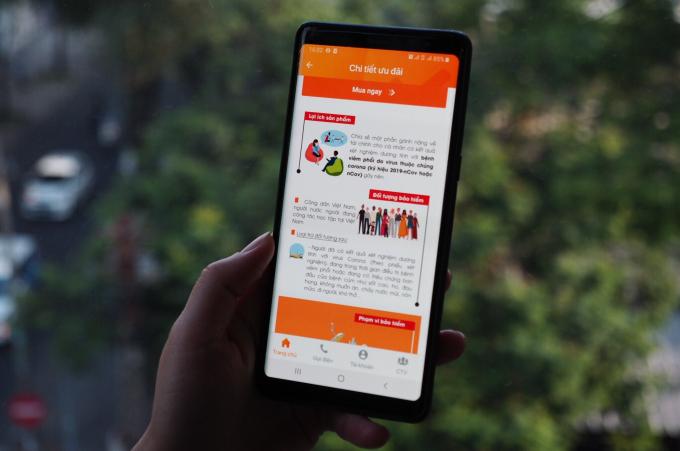 (Theo Petrotimes) Ứng dụng bảo hiểm LIAN ra mắt gói sản phẩm Corona Care
