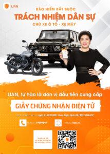 (Theo Người đồng hành) Ứng dụng LIAN cung cấp gói bảo hiểm xe cơ giới trực tuyến