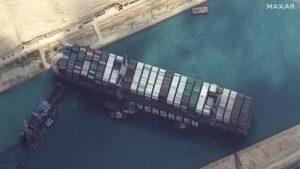 (Theo AIR) Tắc nghẽn kênh đào Suez – sự kiện tổn thất lớn đối với các công ty tái bảo hiểm toàn cầu